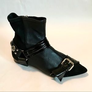 ISABEL MARANT Size 37 6.5 7 Black Booties